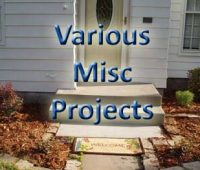 Misc Projects
